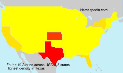 Aldrine - Names Encyclopedia