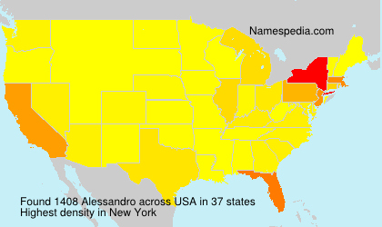 Surname Alessandro in USA