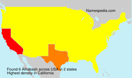 Surname Alhabash in USA