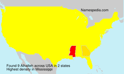Alhalteh - Names Encyclopedia