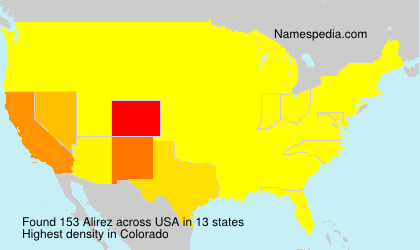 Surname Alirez in USA