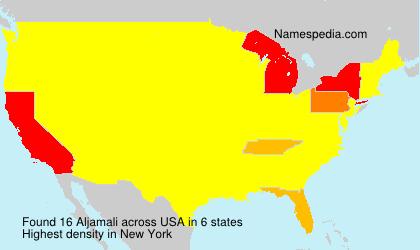 Surname Aljamali in USA