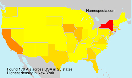 Surname Als in USA