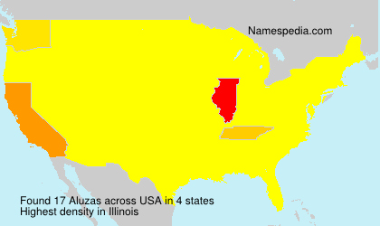 Surname Aluzas in USA