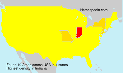 Surname Amac in USA
