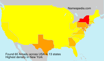 Surname Amadu in USA