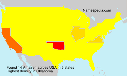 Surname Amaireh in USA