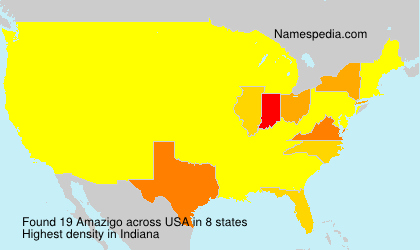 Surname Amazigo in USA