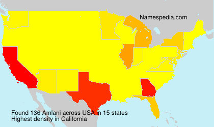 Surname Amlani in USA