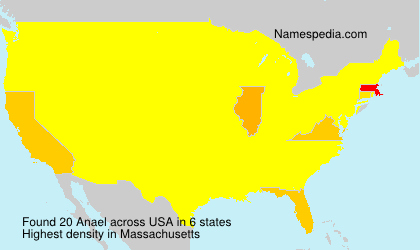 Surname Anael in USA