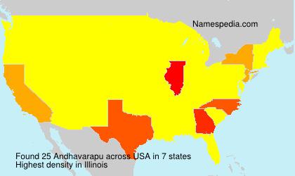 Andhavarapu - USA