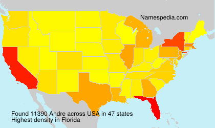 Surname Andre in USA