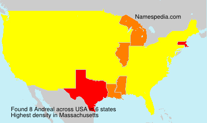 Surname Andreal in USA