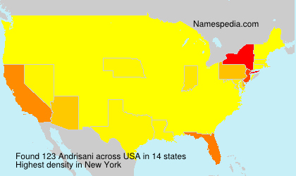 Surname Andrisani in USA