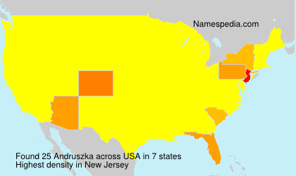 Surname Andruszka in USA