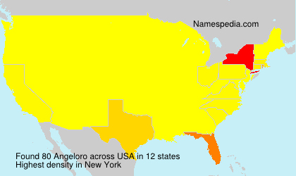 Surname Angeloro in USA