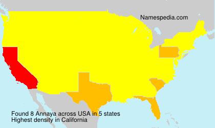 Annaya - USA