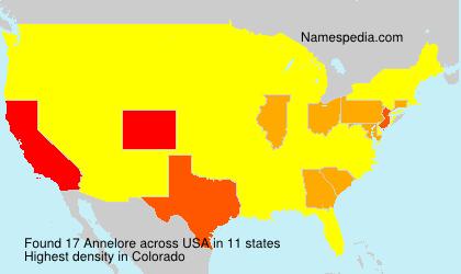 Surname Annelore in USA
