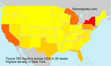 Surname Aquilina in USA