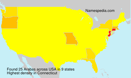 Surname Arabas in USA