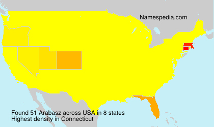 Surname Arabasz in USA