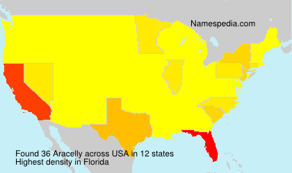 Surname Aracelly in USA