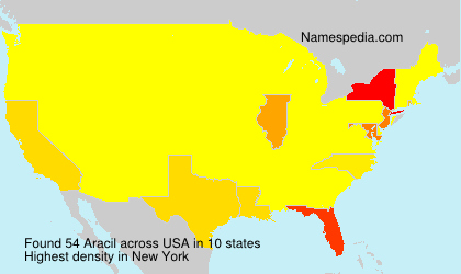 Surname Aracil in USA