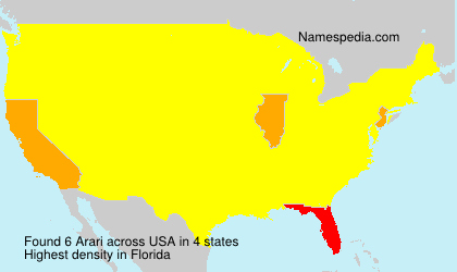 Surname Arari in USA