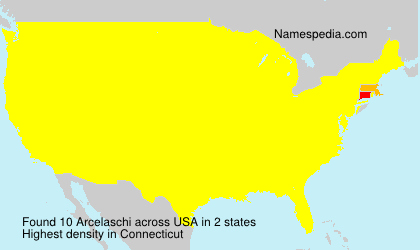 Surname Arcelaschi in USA