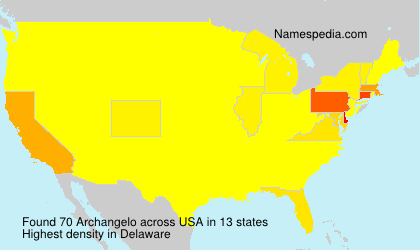 Surname Archangelo in USA