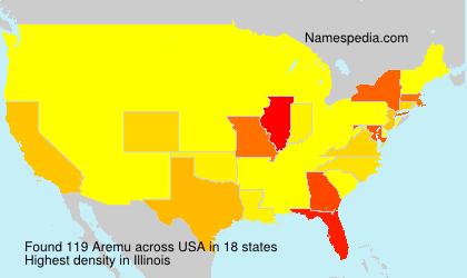 Surname Aremu in USA
