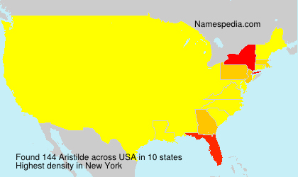 Surname Aristilde in USA