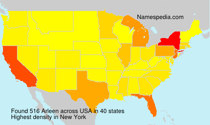 Surname Arleen in USA