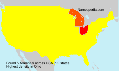Surname Armanazi in USA