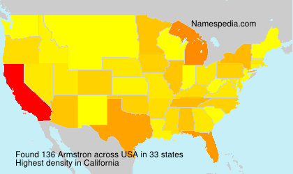 Surname Armstron in USA