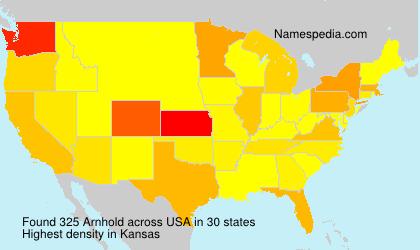 Surname Arnhold in USA