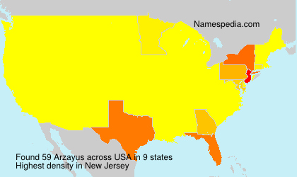 Surname Arzayus in USA