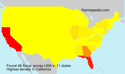 Surname Ascar in USA
