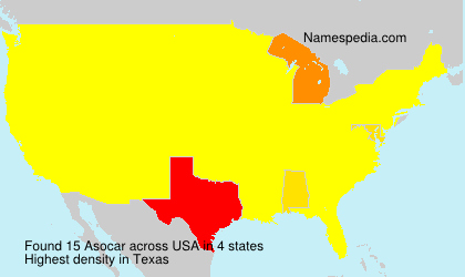 Surname Asocar in USA