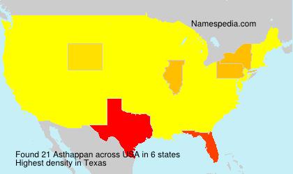 Asthappan - USA