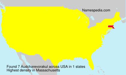 Audcharevorakul - USA