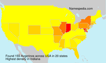 Surname Avgerinos in USA
