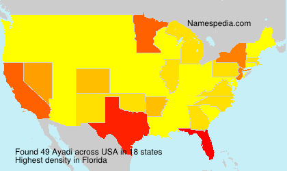 Surname Ayadi in USA