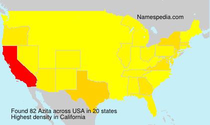 Surname Azita in USA