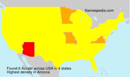 Surname Azzabi in USA
