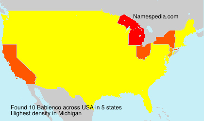 Surname Babienco in USA