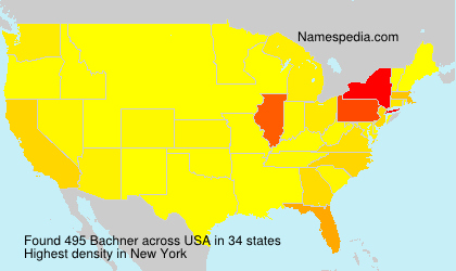 Surname Bachner in USA