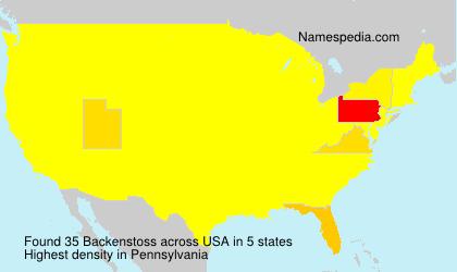 Backenstoss - USA