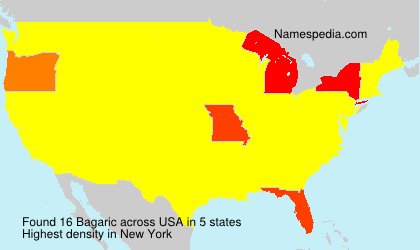 Surname Bagaric in USA