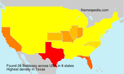 Surname Baldasso in USA